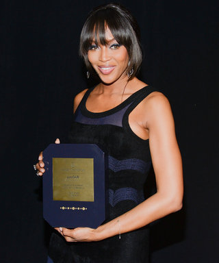 Naomi Campbell Dazzles as She's Honored at amfAR's Seventh Annual Inspiration Gala in New York