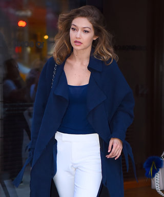 Gigi Hadid Steps Out in an Elevated Athleisure Look While Out with Sister Bella in N.Y.C.