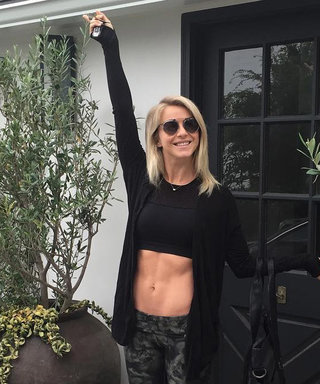 Julianne Hough Puts Her Incredible Abs on Full Display on Instagram