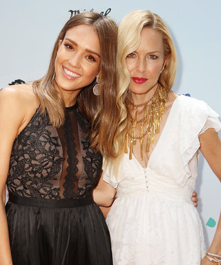 Jessica Alba Gives Sweet Tribute to Rachel Zoe at Children's Charity Event