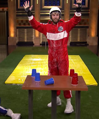Watch Liam Hemsworth's Impressive Athleticism Playing Slip and Flip on The Tonight Show
