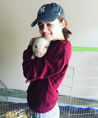 Pigs, Pancakes, and Parties: Here's How Lucy Hale Is Celebrating Her 27th Birthday