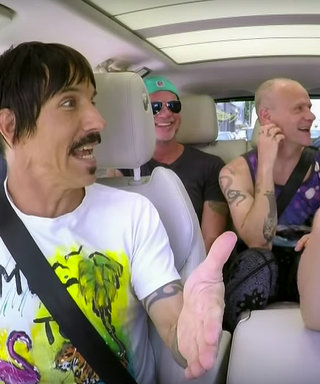 Carpool Karaoke: Watch the Red Hot Chili Peppers Take a Ride with James Corden