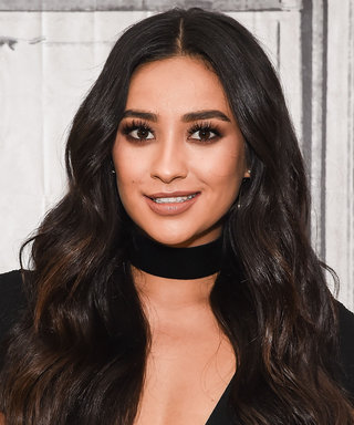 You Need to See Shay Mitchell's Textured Crown Braid