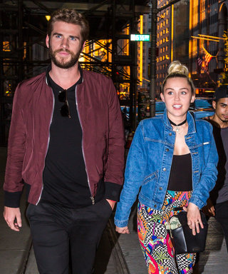 Miley Cyrus and Liam Hemsworth put on a rare display of PDA as they headed out in NYC, New York for a date night. The once again reunited couple headed to the SoHo House for Dinner with a few pals.