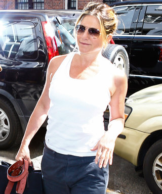 Jennifer Aniston Looks Refreshed Post-Vacation in a Laid-Back Ensemble in N.Y.C.
