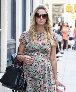 Nicky Hilton Flaunts Her Girly Maternity Style in a Breezy Floral Dress