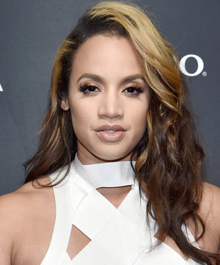 Dascha Polanco Added Gold Leafing to Her Ponytail