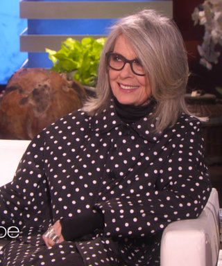 "Watch Diane Keaton Pick Her Favorite Hollywood Hunk in a Game of ""Who'd You Rather?"" on Ellen"