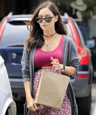 Megan Fox Shows Off Her Boho Bump Style in Los Angeles