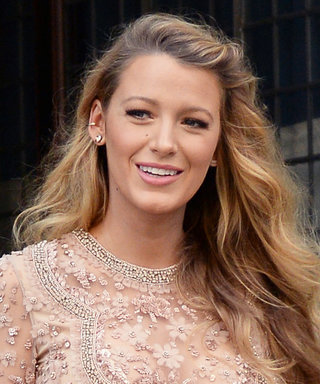 "Pregnant Blake Lively Talks About Being ""Breeders"" with Ryan Reynolds, Wows in a Semi-Sheer Nude Mini"