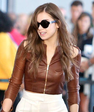 Hailee Steinfeld Shows Off Her Chic Airport Style in Toronto