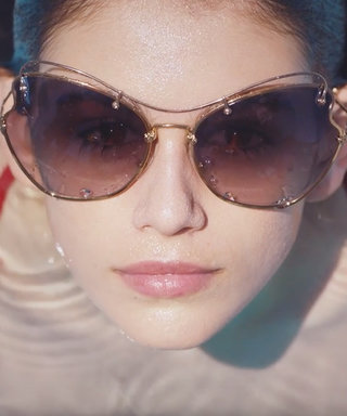 Watch Kaia Gerber Soak Up the Sun in a New Miu Miu Eyewear Film