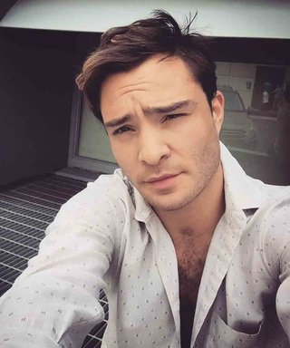 We're Taking a Look Back at 14 of Birthday Boy Ed Westwick's Most Smolderingly Sexy Selfies