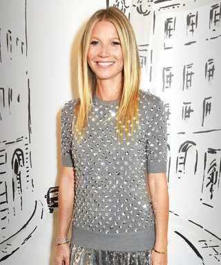 Gwyneth Paltrow Shines Bright in Sequins and Gems at Michael Kors's London Store Opening