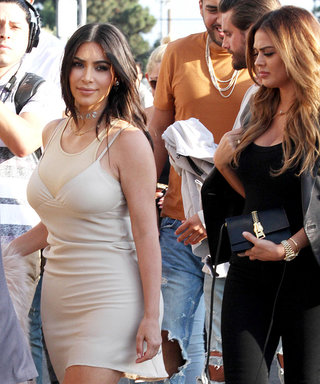 """The Kardashians Really Wow at Kanye's """"Famous"""" Video Premiere—See All the Hot Looks"""