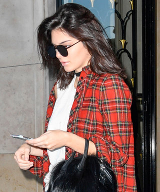 Kendall Jenner Channels Her Inner Bad Girl in a Totally '90s Grunge Outfit