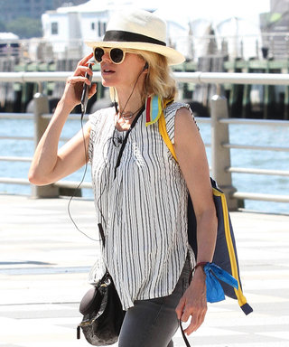 Naomi Watts Hits New York with Two Best Friends: Her Cute Pup and Birkenstocks