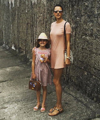 Alessandra Ambrosio and Her 7-Year-Old Daughter Continue Their Euro Trip with a Stylish Visit to Berlin