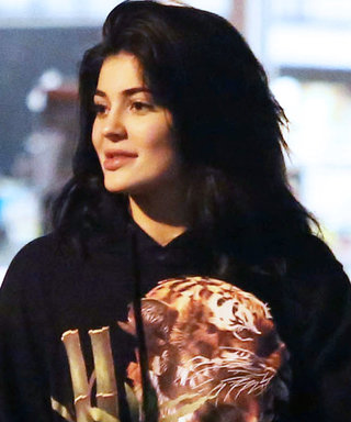 Kylie Jenner Wears $550 Sweatshirt Designed by On-Again Boyfriend Tyga