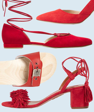 9 Red-Hot Shoes to Wear This Fourth of July