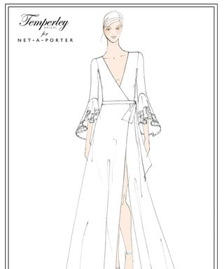 Temperley London Designed an Exclusive Bridal Collection for Net-a-Porter