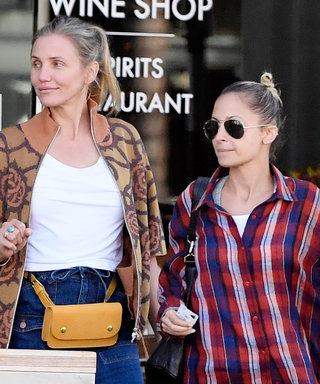 Sisters-in-Law and BFFs Cameron Diaz and Nicole Richie Look Fresh-Faced on a Day Out in Beverly Hills