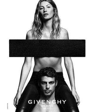 Gisele Bündchen Goes Topless in the Latest Givenchy Jeans Campaign