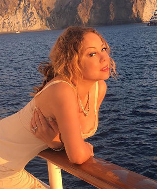 This Is What Mariah Carey Wears While Yachting in Italy
