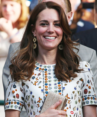 Kate Middleton Aces Wimbledon Style in Alexander McQueen Dress
