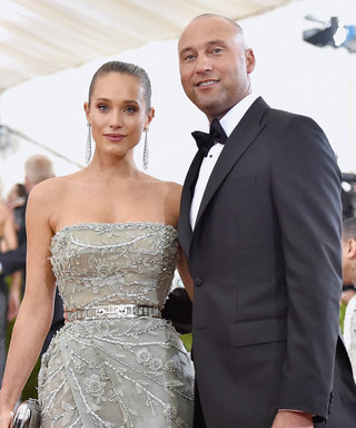 Here's the Stunning Vera Wang Dress Hannah Davis Wore to Marry Derek Jeter