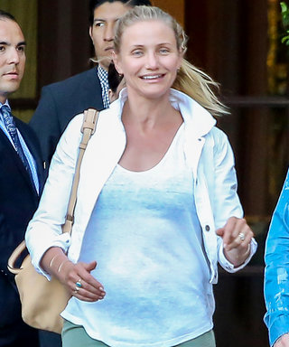 Cameron Diaz Goes Makeup-Free During Outing with Husband Benji Madden