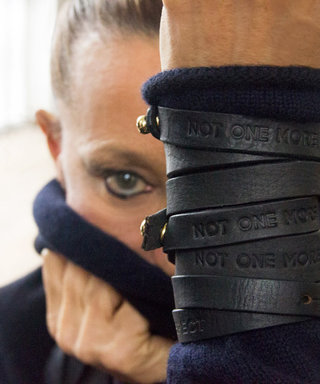 Donna Karan Wants to #DisarmHate with Latest Bracelet Design