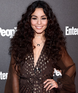 Vanessa Hudgens Wows in a Sexy Black One-Piece Swimsuit in Italy