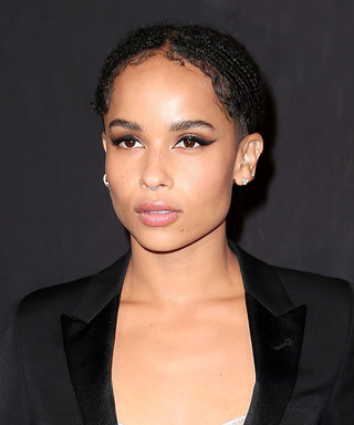 No One Makes a Cat-Eye Look Quite as Cool as Zoë Kravitz