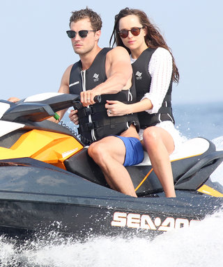 Dakota Johnson and Jamie Dornan Get in Some Jet Ski Action While Filming the Fifty Shades Sequels