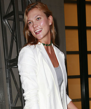 See Karlie Kloss Dazzle in All-White Business Suit