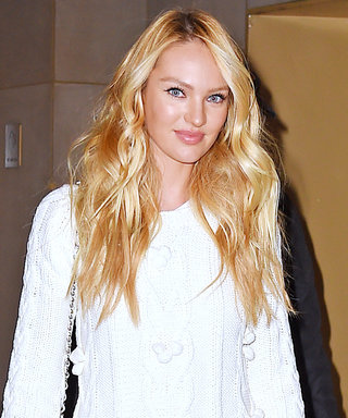 Candice Swanepoel Looks Like a Pregnant Goddess in Her Latest Bump-Filled Snap