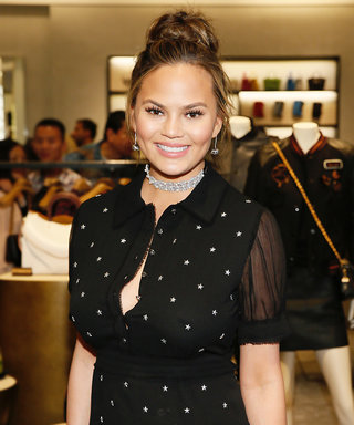 Chrissy Teigen Gets Ready for a Beyoncé Concert with Help from Baby Luna