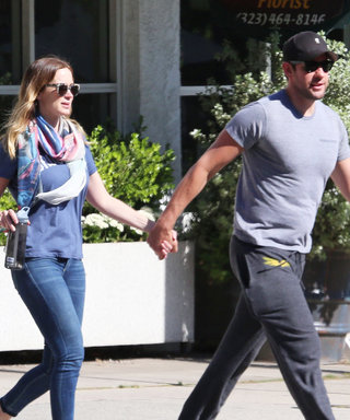 Emily Blunt and John Krasinski Step Out Holding Hands Post-Baby