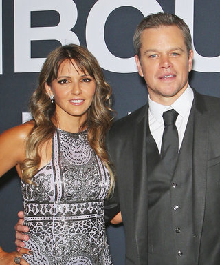 Matt Damon's Wife, Luciana Barroso, Once Again Smolders at a Jason Bourne Premiere