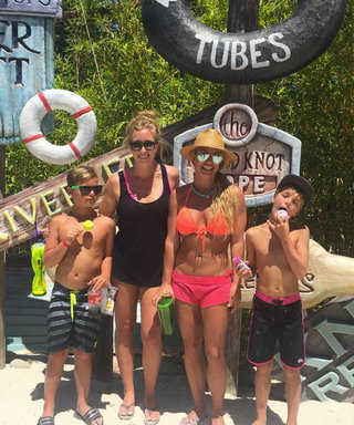 Britney Spears Looks Hotter Than Ever in a Bikini While at a Water Park with Her Boys