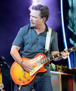 Coldplay and Michael J. Fox Recreate That Memorable Back to the Future Concert Scene