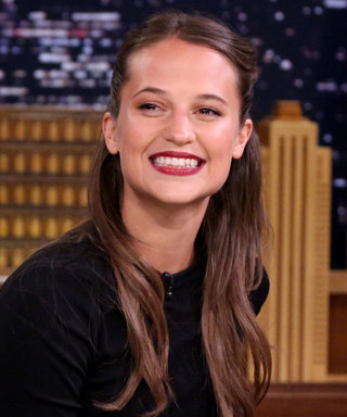 "Watch Alicia Vikander School Jimmy Fallon in the Swedish Drinking Game, ""Pen in Bottle"""