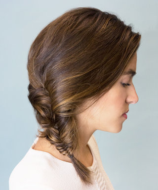 This Fishtail Braid GIF Is Both Easy and Chic