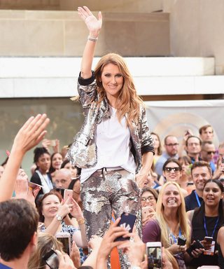 Celine Dion Performs on The Today Show Plaza, Talks Losing Her Husband René Angélil
