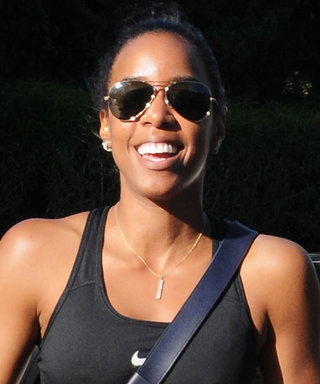 Kelly Rowland Looks Fit and Fierce in Midriff-Baring Workout Gear