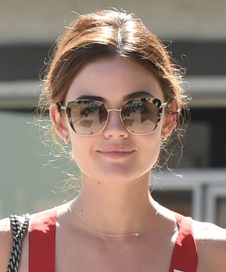 Lucy Hale's Daytime Outfit Is the Definition of '70s Chic