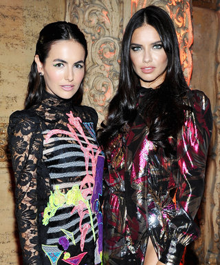 Camilla Belle and Adriana Lima Smolder at Marc Jacobs's Divine Decadence Fragrance Dinner in L.A.