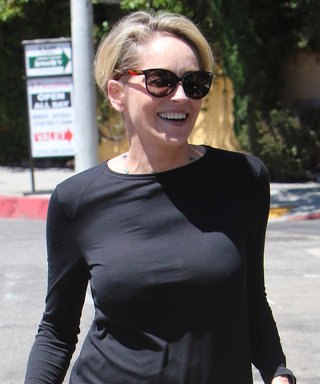 Sharon Stone Shows Off Her California-Chic Street Style in Los Angeles